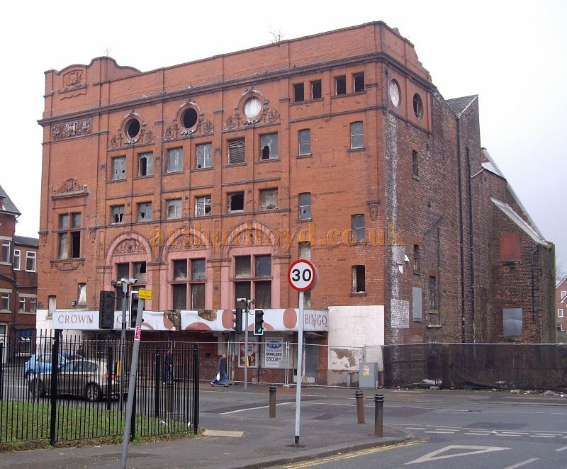 The Crown Theatre, Corner of Church Street and Mather Road, Eccles
