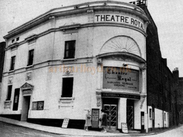 The Theatre Royal, Margate - Theatre World, June 1962 - Courtesy Maurice Poole.