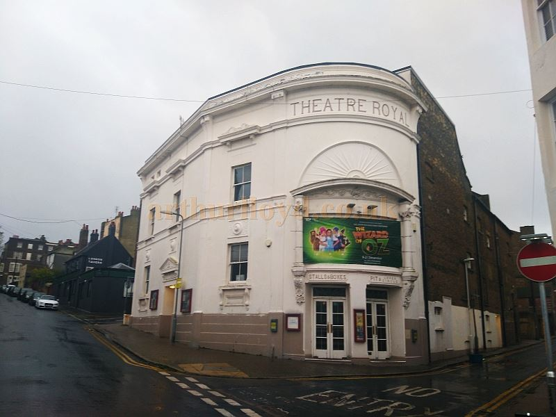 The Theatre Royal, Margate in November 2017 - Courtesy Philip Paine.