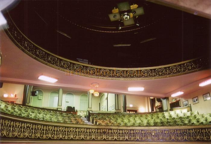 The Dress Circle of the Middlesbrough Empire in May 1989 - Courtesy Ted Bottle.