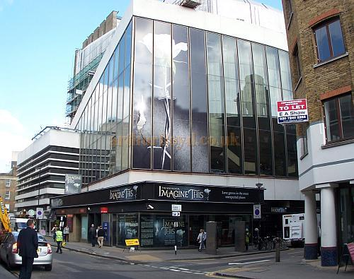 The New London Theatre during pre-production for the musical 'Imagine This' which opened on the 19th of November 2008 but closed just a few weeks later - Photo M.L.