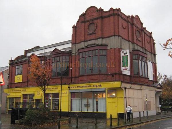 The former Devonshire Hall, Morecambe in 2010 - Courtesy KR