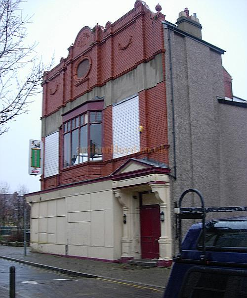 The Devonshire Hall, Morecambe in 2008 - Courtesy Peter Charlton