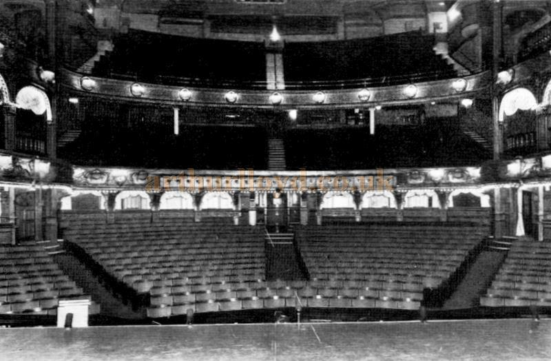 The auditorium of the London Hippodrome in 1949 - From the Moss Empires Jubilee Brochure of 1949
