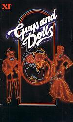 A Programme for Richard Eyre's original National Theatre production of 'Guys and Dolls' which was brought to the Bristol Hippodrome in 1982.