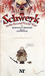 Programme for the National Theatre's fantastic production of Bertolt Brecht's 'Schweyk' which was first produced at the Olivier Theatre on the 23rd of September 1982.