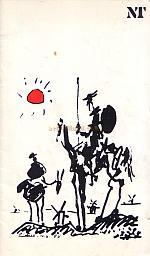 Programme for the National Theatre's production of 'Don Quixote' which was first produced at the Olivier Theatre with Pail Scofield as Don Quixote del la Mancha on the 18th of June 1982.