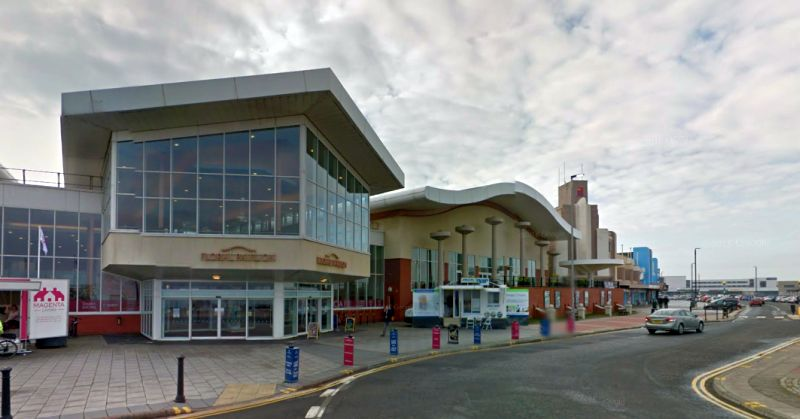 A Google StreetView Image of the Floral Pavilion and Conference Centre, New Brighton - Click to Interact