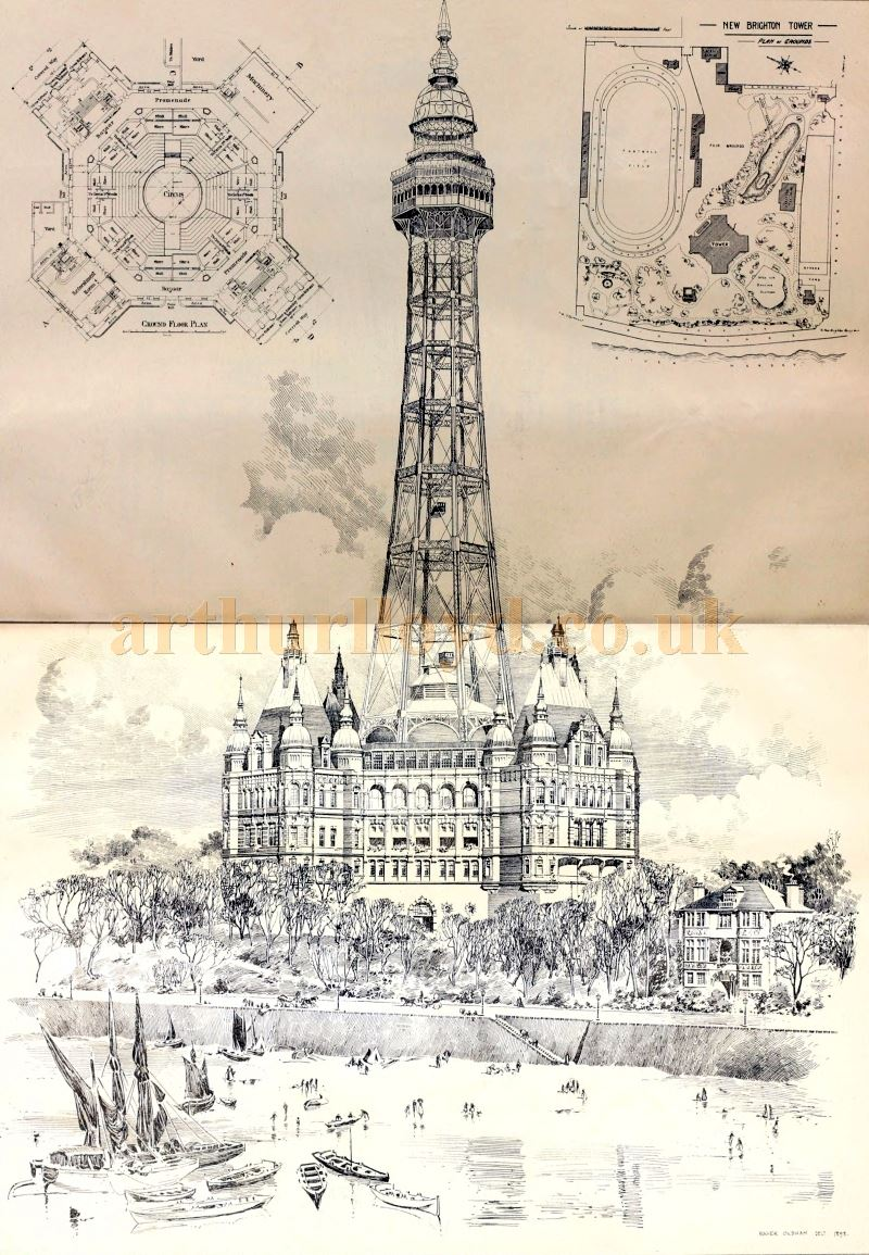 The New Brighton Tower - From the Building News and Engineering Journal of December the 29th 1899