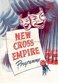 Programme for 'The All Comedy Variety Show, Laugh and be Happy' at the New Cross Empire in May 1948.