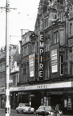 Moss's Empire Palace Newgate Street Newcastle, courtesy Gareth Price - Click to visit the Newcastle pages on this site.