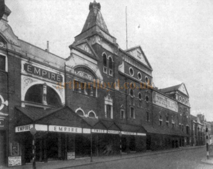 The Nottingham Empire Theatre - From the Moss Empires Jubilee Brochure of 1949