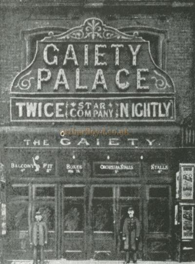 The Gaiety Palace of Varieties, which was later to become the King's Theatre - Courtesy Alan Chudley