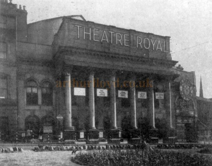 The Theatre Royal, Nottingham - From the Moss Empires Jubilee Brochure of 1949