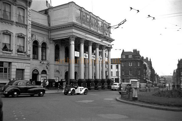 The Theatre Royal, Nottingham during the run of 'Can-Can' on the 25th of June 1956 - Courtesy Gerry Atkins