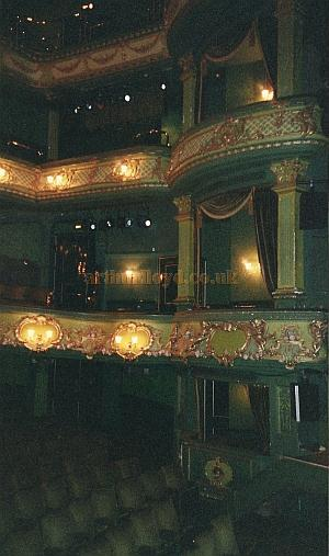 The auditorium of the Theatre Royal, Nottingham today - Courtesy David Garratt.
