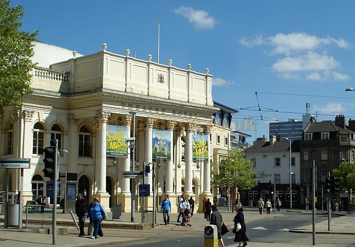 The Theatre Royal and Concert Hall, Nottingham in 2011 - Courtesy Ralph Stephenson