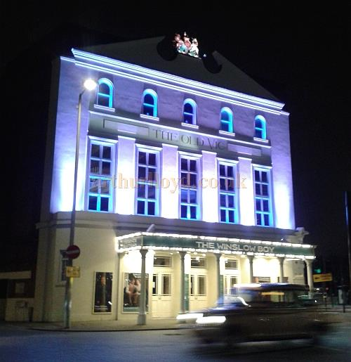 The Old Vic Theatre during the run of 'The Winslow Boy in April 2013 - Photo M.L.