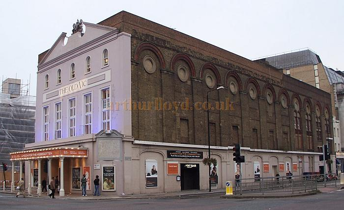 The Old Vic during the run of 'A Moon For The Misbegotten' in October 2006. -  Photo M.L.