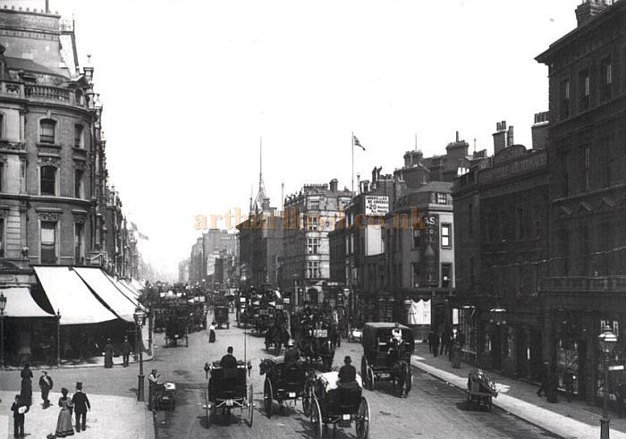 Oxford Circus in 1894