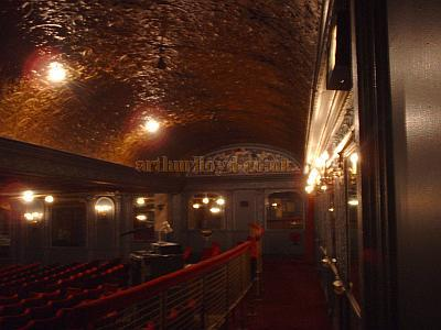 The original Pit area, at the rear of the stalls of the Palace Theatre. - Photo M.L.