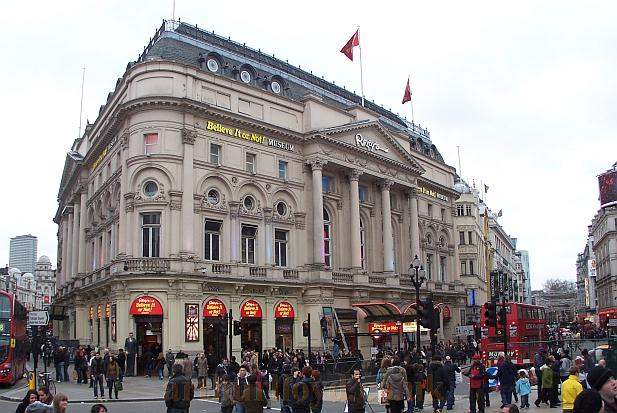 The London Pavilion in January 2011, now the Ripley's Believe it or not Museum - Photo M. L. 2011.