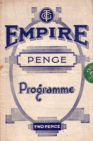 A programme for 'This Year of Carnival' at the Penge Empire, November 4th 1935 - Courtesy Roy Cross - Click to see more of this programme.