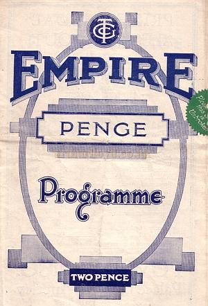 A programme for '1,001 Marvels ' at the Penge Empire, May 27th 1935 - Courtesy Roy Cross - Click to see more of this programme.
