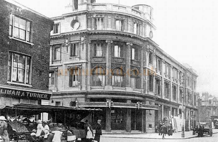 An early postcard depicting the Penge Empire Theatre