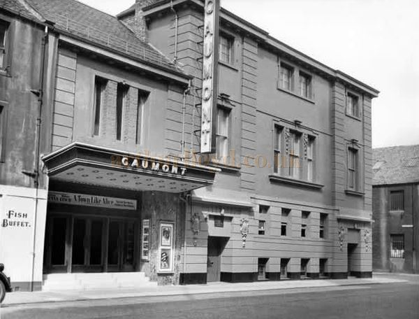 Perth's Alhambra Theatre when it became the Gaumont - Courtesy Graeme Smith.