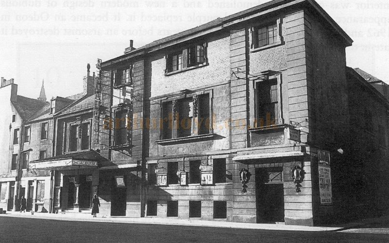 Perth's Alhambra Theatre - Courtesy Bruce Peter.