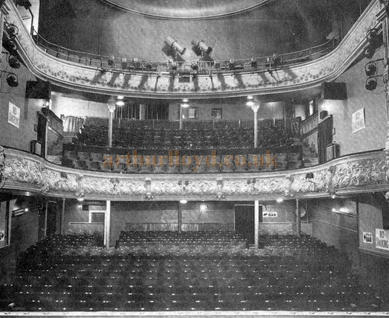 A view from Stage of the Perth Theatre Auditorium in 1953 - Courtesy the Perth Theatre Project team.