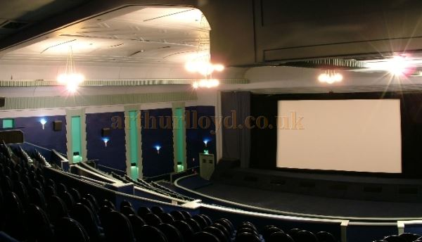 The Perth Playhouse Theatre's Interior before its multi-screen subdivison - Courtesy Graeme Smith.