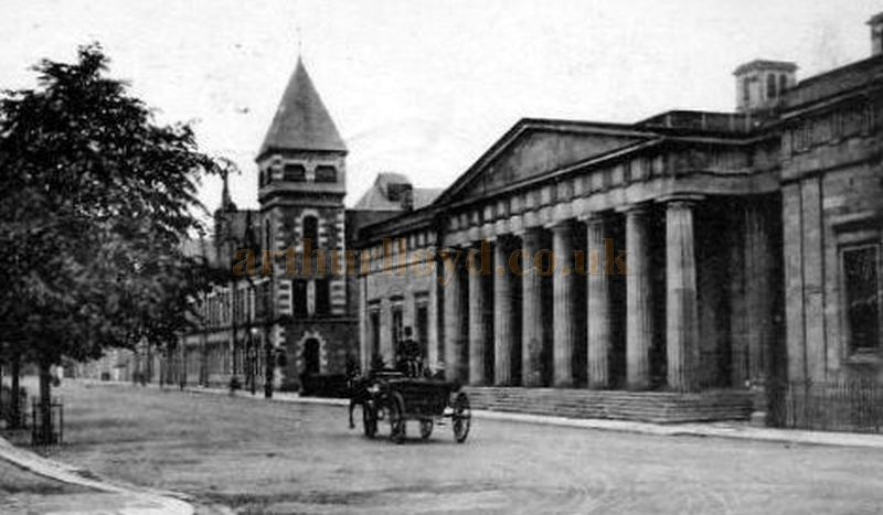 Perth's New Public Hall & Opera House photographed to the left of the County Buildings in Tay Street- Courtesy Graeme Smith.