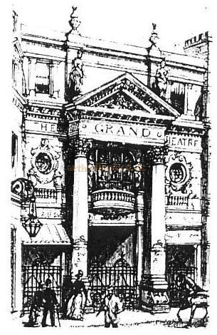 The Grand Theatre in 1888