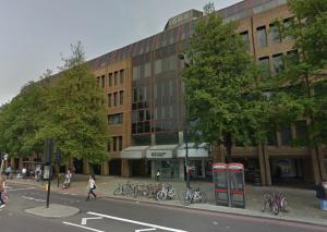A Google Streetview image of the site of the former Islington Empire today - Click to Interact.