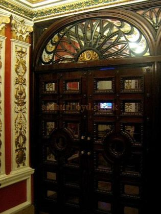 Decorative Features at the Phoenix Theatre in November 2010 - Courtesy Charles S. P. Jenkins