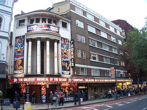 The Phoenix Theatre during the run of 'Blood Brothers' in October 2006. - Photo M.L.