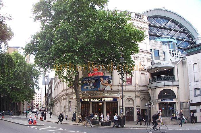 The Playhouse Theatre during the run of 'Dreamboats and Petticoats' in May 2011 - Photo M.L.
