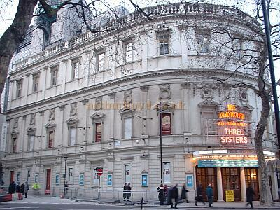 The Playhouse Theatre during the run of 'Three Sisters' in 2003 - Photo M. L.