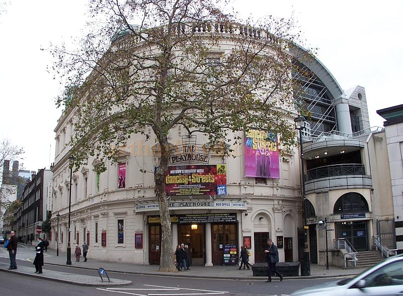 The Playhouse Theatre during the run of 'Dancing in the Streets' in December 2006 - Photo M.L.