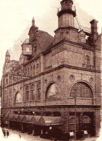 The Palace Theatre of Varieties, Plymouth - From a Variety Programme for the Theatre on September the 25th 1905.