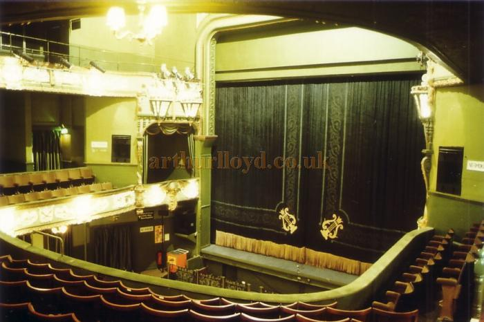 The 1899 Auditorium of the Palace Theatre, Plymouth in 1982 - Courtesy Ted Bottle