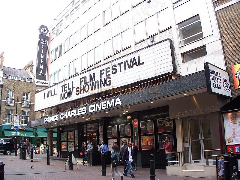 The Prince Charles Cinema, formerly the Prince Charles Theatre, in September 2009 - Photo M.L.