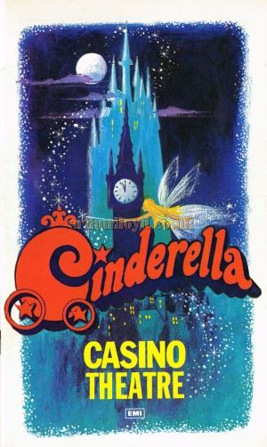 A Programme for 'Cinderella' at the Casino Theatre in December 1974 - Courtesy Roger Fox.