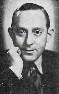 Photograph of Alfred Esdaile - From a Programme for 'Revue Folies de Can-Can' at the Prince of Wales Theatre in 1938 - Click to see the entire programme.