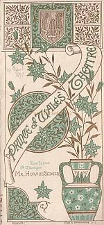 A Programme for 'L'Enfant Prodigue' at the Prince of Wales Theatre in 1891 - Click to see the entire programme.