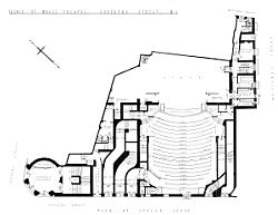 Plans for the original Theatre - Click to Enlarge.