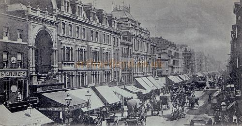 Princess's Theatre, Oxford Street - From a postcard dated 1900