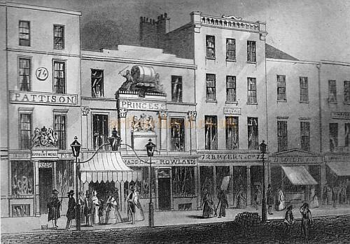 Exterior of Princess's Theatre, Oxford Street